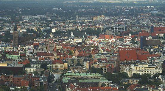 Wrocław ze Skytower
