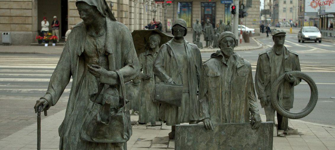 Pomnik ludzi we Wrocławiu